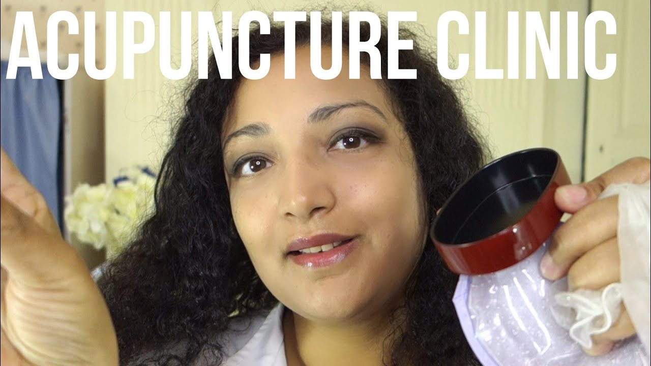 25532a7eae604 ASMR acupuncture clinic roleplay with Dr French