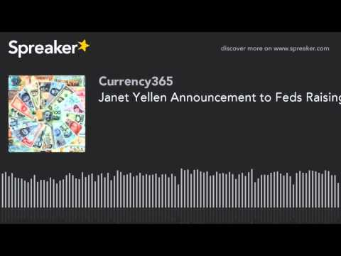 Janet Yellen Announcing Feds Raising Interest Rates (Full Speech)