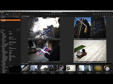 Capture One Pro 8 | Editing Metadata and Adding Keywords