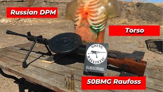 How To Light Uṗ A Zombie With A Full Auto & 50 BMG