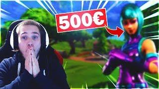 NOUVELLE PEAU de 500 euros ! Fortnite X Jordanie - France Fortnite News anglais Jonny