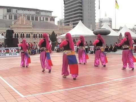 Johon Pertandingan Poco-Poco 1 Malaysia Dataran Merdeka.MOD