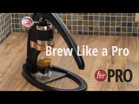 Brew Like a Pro   Flair Espresso PRO   Step-by-Step
