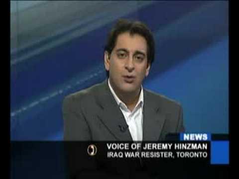 Afshin Rattansi interviews Jeremy Hinzman, 82nd Ai...
