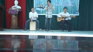 Tình ca du mục_ Sáo+Cajon+guitar