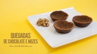 Receita De Queijadas De Chocolate E Nozes
