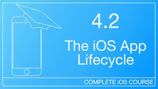 The Lifecycle of an App | 4.2 - The iOS App Lifecycle | How To Develop iOS Apps Course