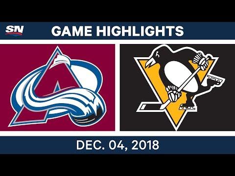 NHL Highlights | Avalanche vs. Penguins - Dec 4, 2018