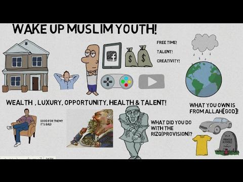 WAKE UP MUSLIM YOUTH! - Nouman Ali Khan Animated