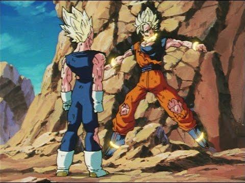 Majin Vegeta Vs Ssj2 Goku Full Fight Youtube