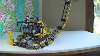 Lego Technic Snow Pipe Cutter (Pipe Monster)