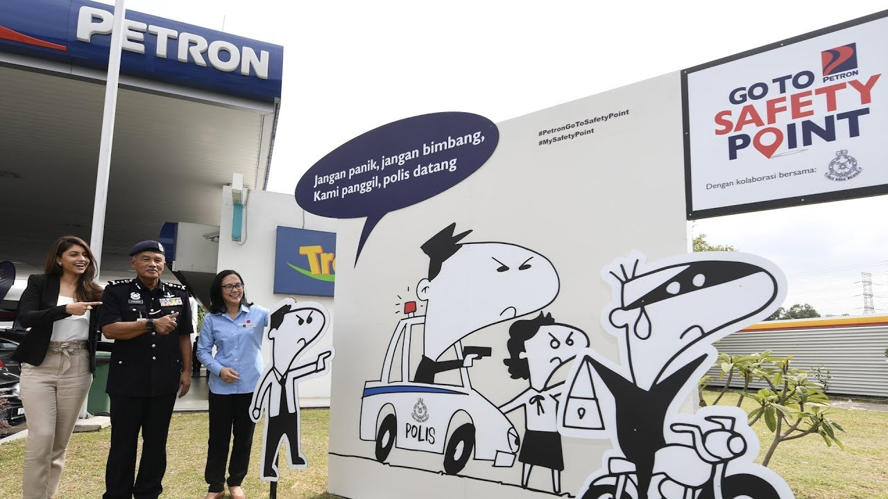 Petron steps up fight against crime