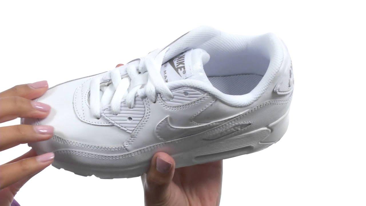 Nike Kids Air Max 90 LTR (Little Kid) SKU:8545961
