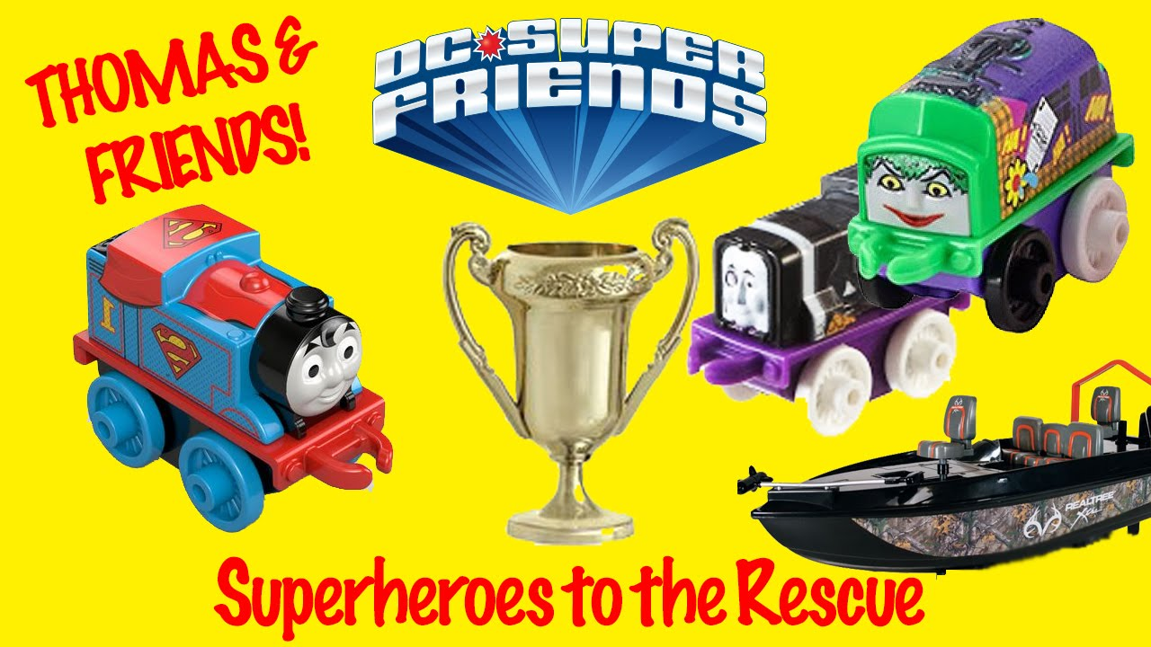 Superheroes to the Rescue Thomas and Friends Mini Series Adventure Story