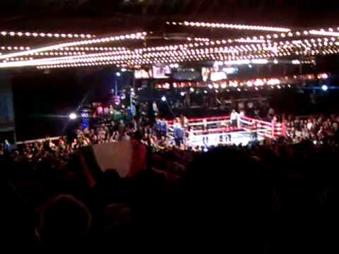Matthew Macklin Vs Sergio Martinez at The Theater Madison Square