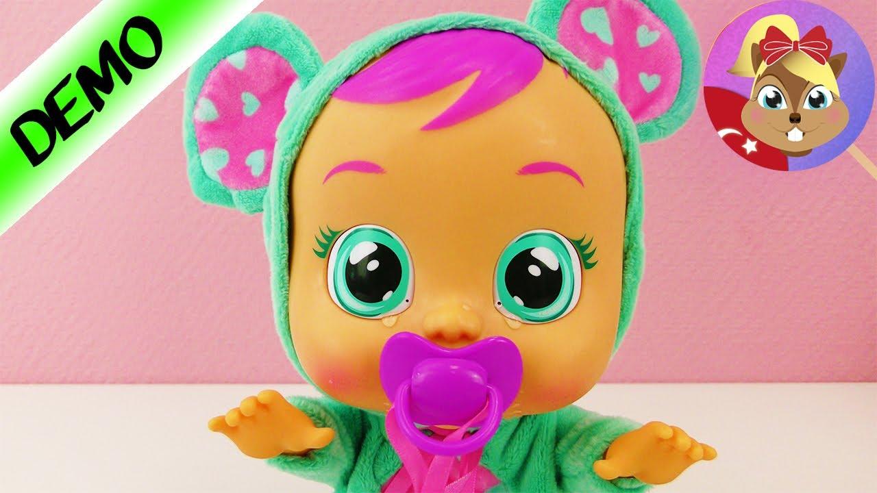 Ağlayan Oyuncak Bebek Cry Babies Türkçe Oyuncak Bebek Youtube