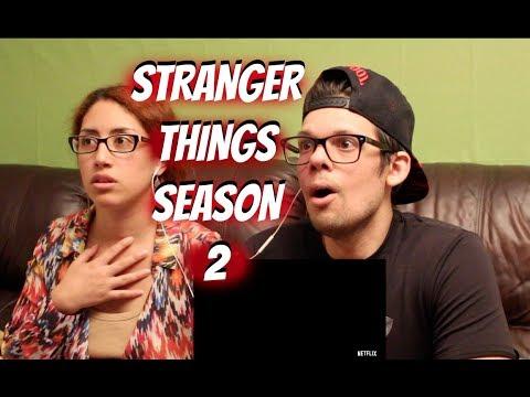 Stranger Things Season 2 Trailer Reaction Youtube