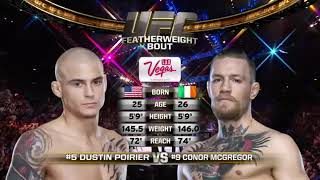 Conor McGregor vs Dustin Poirier - Full Fight 2014