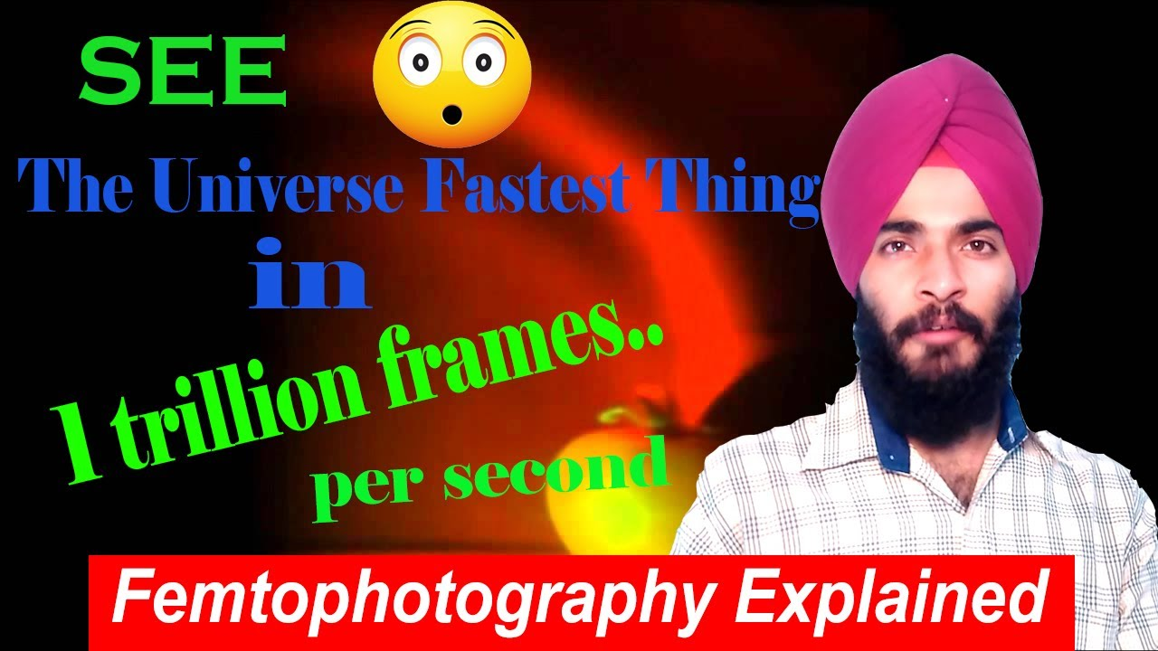 Fancy Trillion Frame Per Second Camera Picture Collection - Framed ...