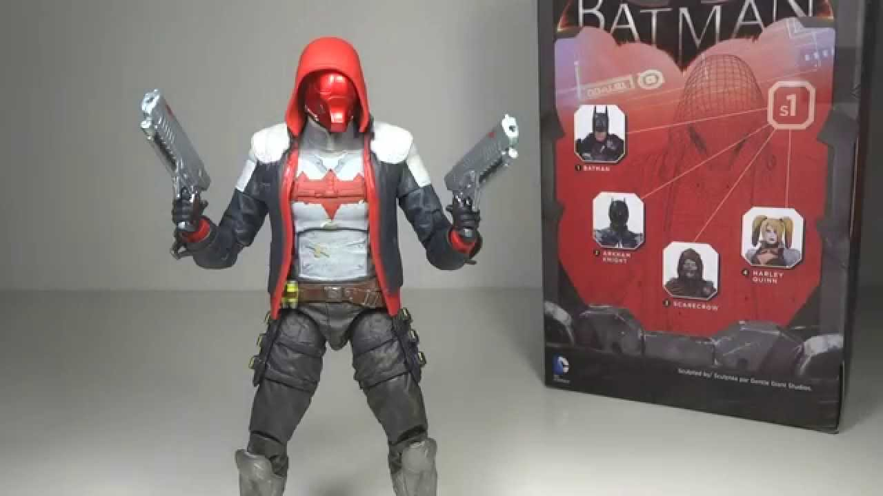 Batman Arkham Knight Red Hood Gamestop Exclusive Toy ...