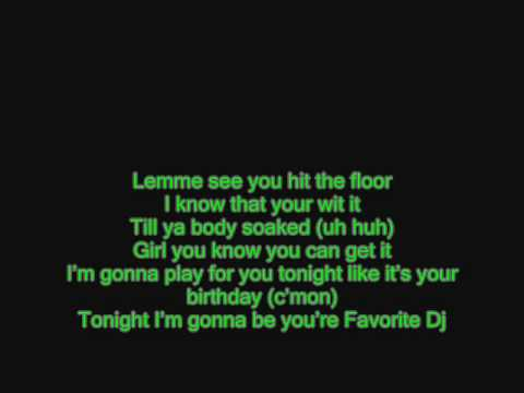 Clinton Sparks - Favorite DJ (with Lyrics)