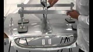 Стенд для правки кузова Gysliner(Демонстрация работы инструмента, входящего в набор стенда для правки кузова автомобилей. www.fenix-market.kiev.ua., 2011-06-24T09:46:06.000Z)