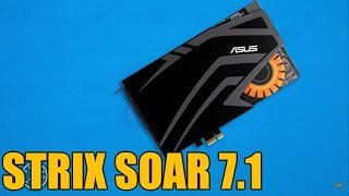Asus Strix SoarSound Card 60 Second Break Down