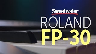 Roland Fp 30 Digital Piano Review Youtube