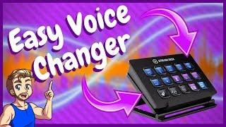 Easy Voice Changer For Streaming - Elgato Stream Deck