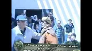 Muammar Gaddafi visiting schools and children. September 4 2011
