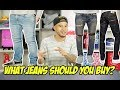 HOW TO PICK THE RIGHT JEANS FOR YOUR BODY TYPE!