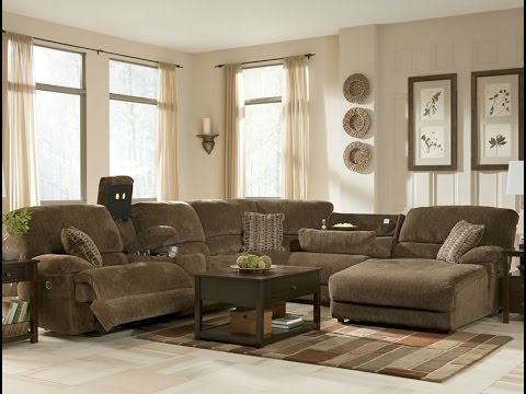 jessa place sectional ashley watch youtube furniture review sofas