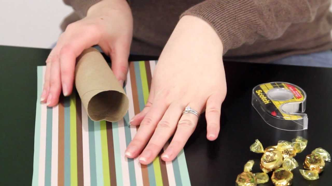 Toilet Paper Roll Birthday Present Brilliantly Bland Crafts Youtube
