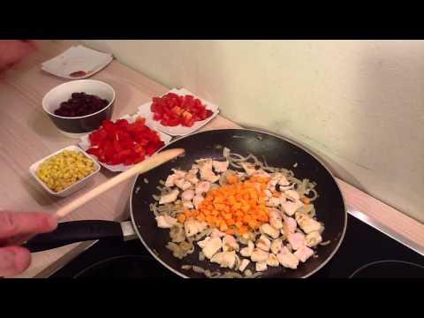 faire-des-wraps-au-poulet---recette-wrap-mexicain