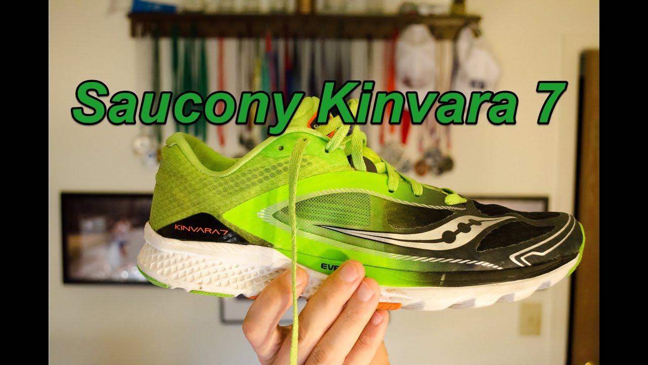 e0e6e489f163 Saucony Kinvara 7 Review - YouTube