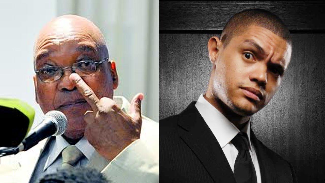 Jacob Zuma Speech Funny Compilation With Trevor Noah Cunt Ry Youtube