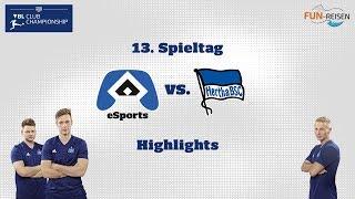 HSVeSports | Die Highlights des 13. Spieltags der VBL