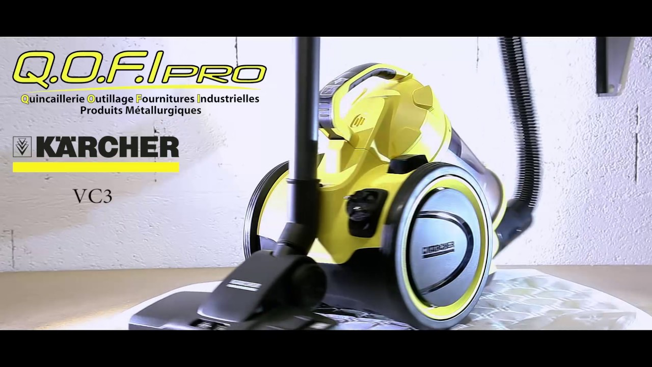 aspirateur karcher vc3 700w youtube. Black Bedroom Furniture Sets. Home Design Ideas