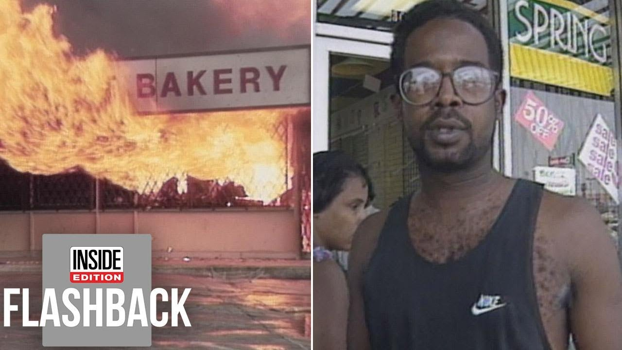 Man Watches Helplessly As His Store Is Looted In La Riots Youtube
