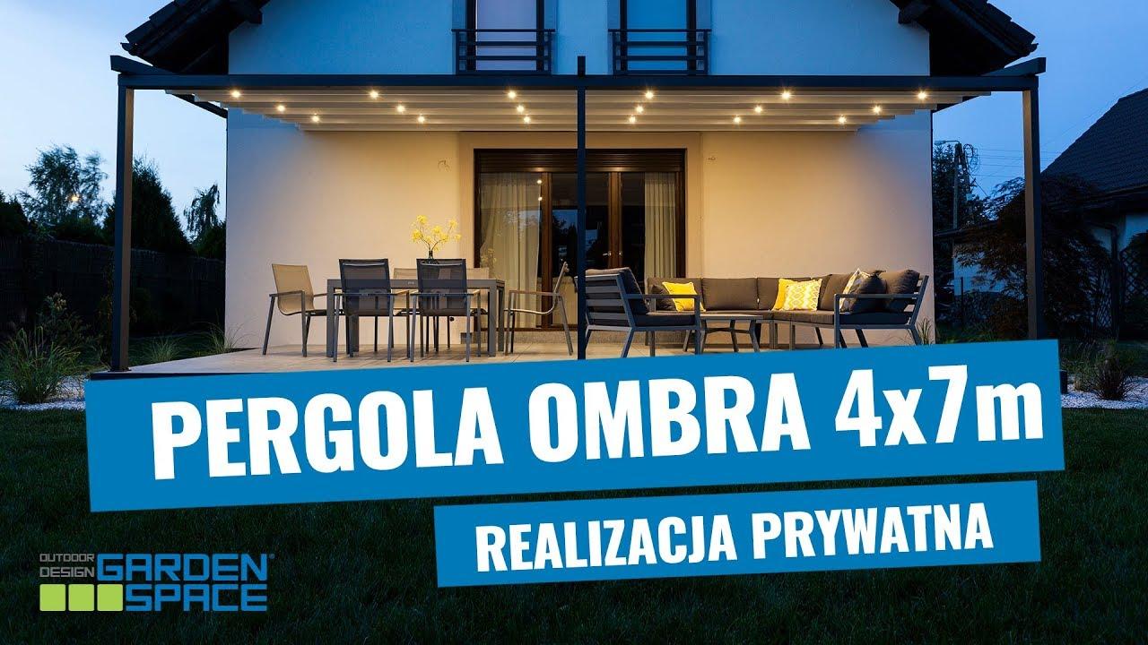 Pergola Aluminiowa Ombra 4x6m Realizacja Prywatna