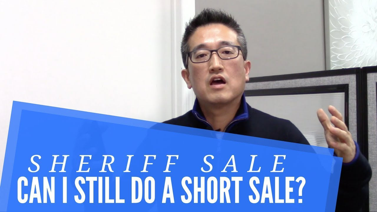Can You Do A Short Sale With A Sheriff Sale Pending In NJ and NY?