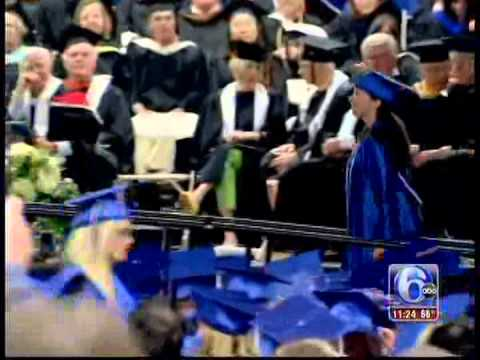 Commencement 2014 on WPVI 11 p.m. News - Bucks County Community College
