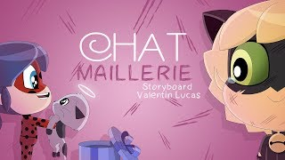MIRACULOUS CHIBI - CHAT-MAILLERIES