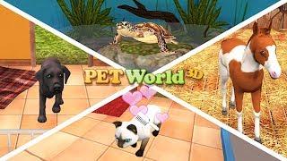ПРИЮТ ДЛЯ ЖИВОТНЫХ #1 УХОД за ХОМЯКОМ, ЗАЙЦЕМ и МОРСКОЙ СВИНКОЙ в игре Pet World 3D