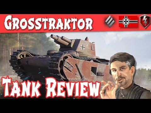 Grosstraktor Tank Review - German Tier 3 Heavy || WOT Blitz ||