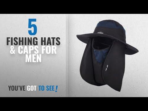 Top 10 Fishing Hats & Caps For Men [2018]: Overmont 360 ° cap hood hat for men / women good