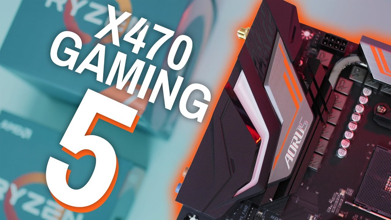 Perfect For Ryzen 2!!! AORUS X470 GAMING 5 WiFi Review