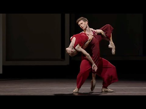 Yugen – pas de deux (Sarah Lamb, Calvin Richardson, The Royal Ballet)