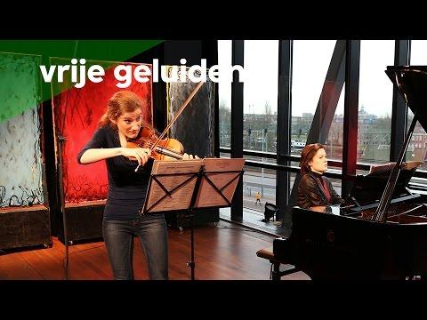 Maria Milstein & Hanna Shybayeva - Prokofiev/ from: Sonata nr. 1 in F (live @ Amsterdam)