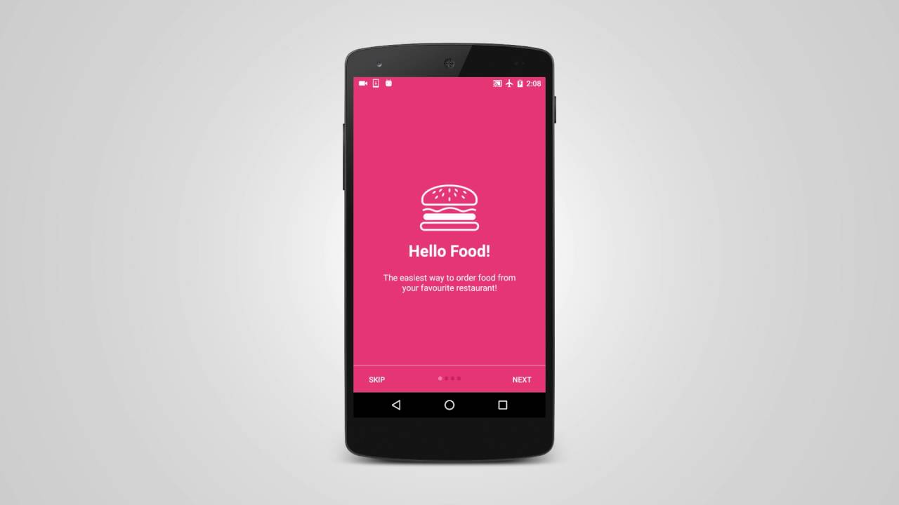 Android How to Build Intro Slider for your App